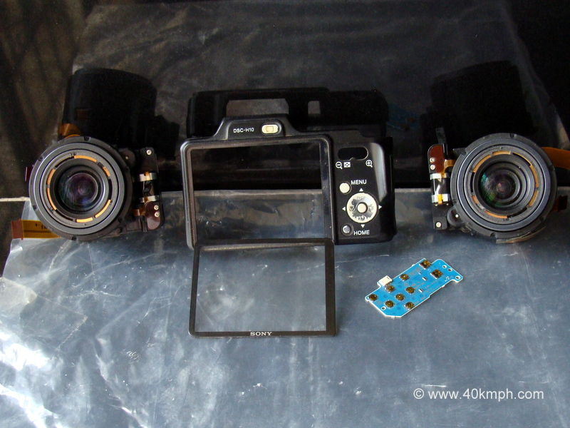 Old Parts of My Sony Cyber-shot DSC H10 Camera