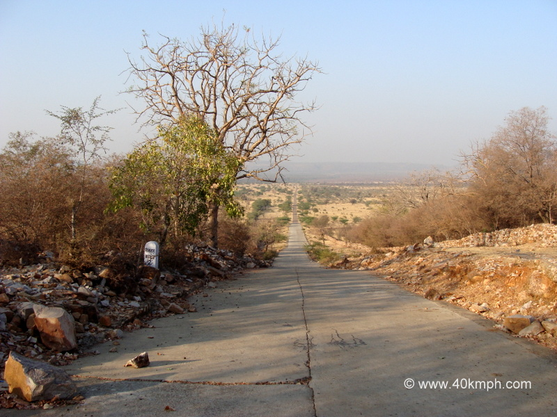 Road to Bhimlat Waterfall, Bundi, Rajasthan