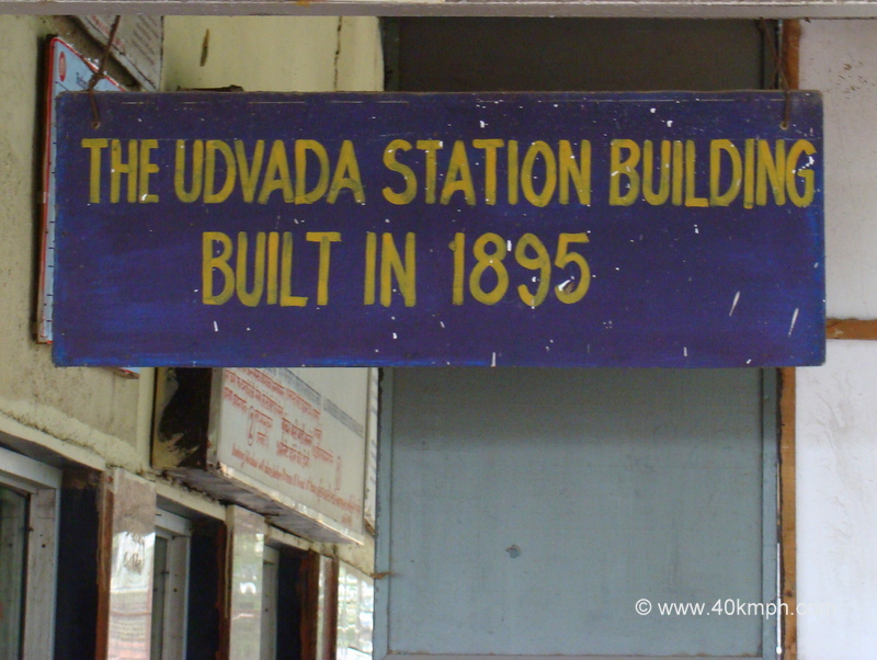 The Udvada Station Building Built Year