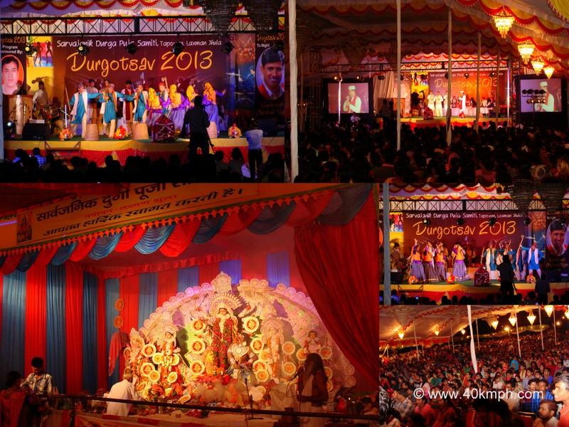 Durgotsav 2013, Tapovan, Rishikesh, Uttarakhand