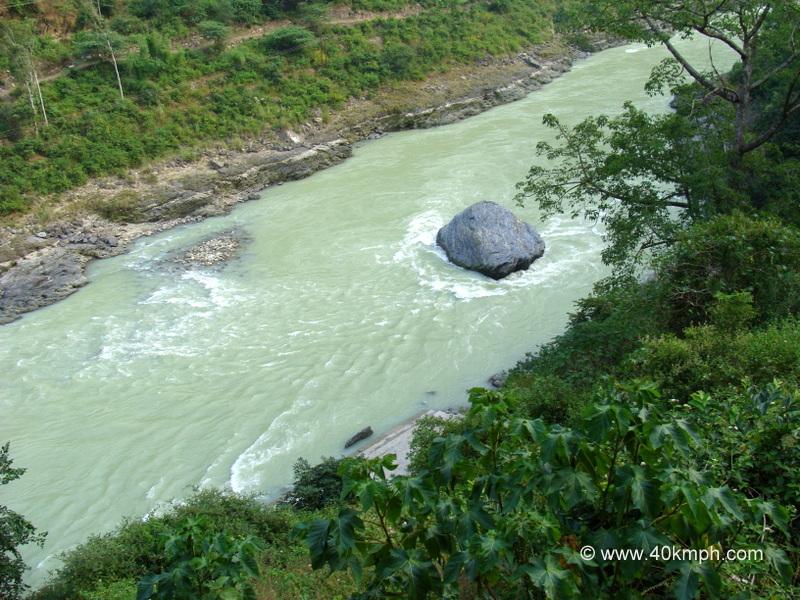 Vaital Shila, Devprayag, Uttarakhand