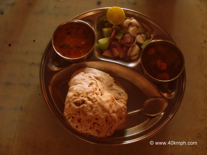Vegetarian Thali at Ashutosh (MTV Roadies Winner) ka Dhaba, Saharanpur, Uttar Pradesh