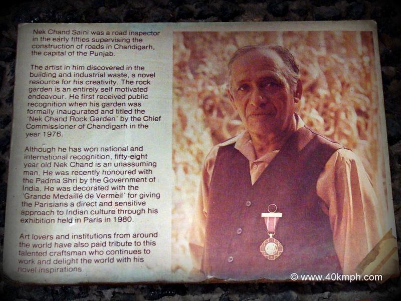 About Nek Chand Saini