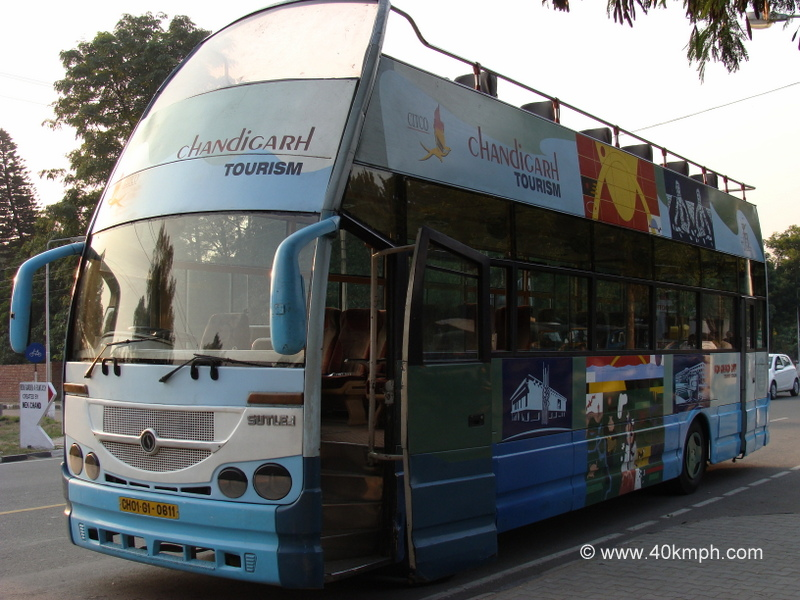 Hop on Hop off Tourist Coach by Chandigarh Tourism