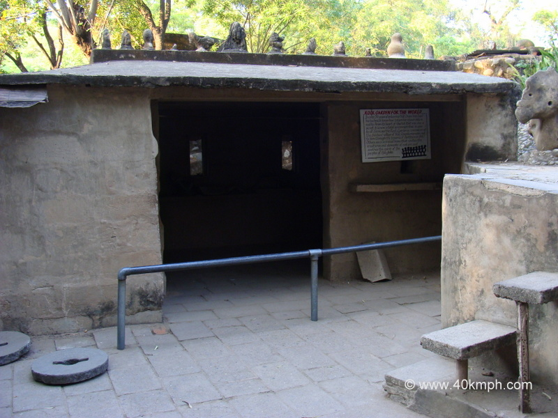Nek Chand Saini's Hut at Rock Garden, Chandigarh