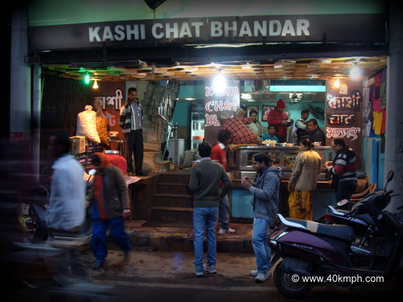 Kashi Chat Bhandar, Godowlia Chowk, Varanasi, Uttar Pradesh