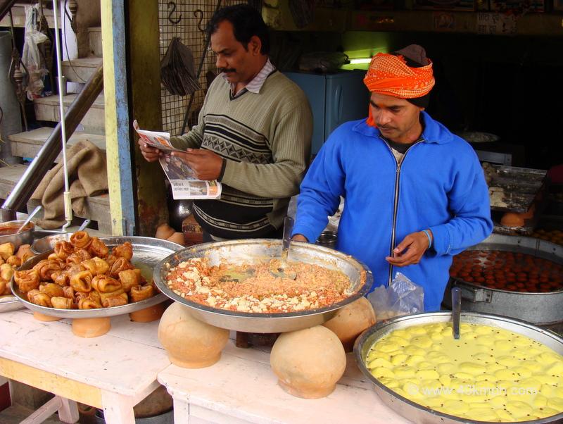 Pahalwan Sweets, Lassi and Doodh, Lanka Crossing, Varanasi, Uttar Pradesh