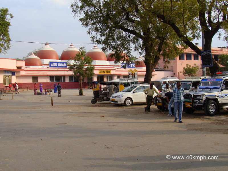 Abu Road Railway Station, Rajasthan