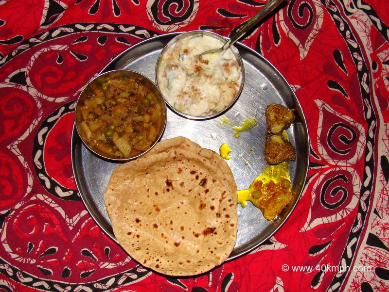 Dinner at a Friend's House in Varanasi, Uttar Pradesh