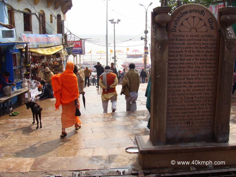 History of Dashashwamedh Ghat, Varanasi, Uttar Pradesh