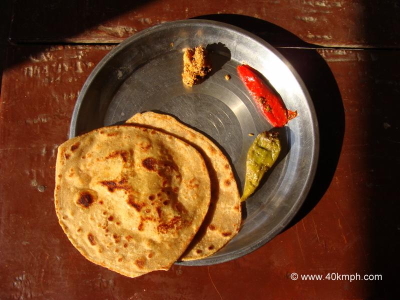 Achaar aur Parathe for Breakfast