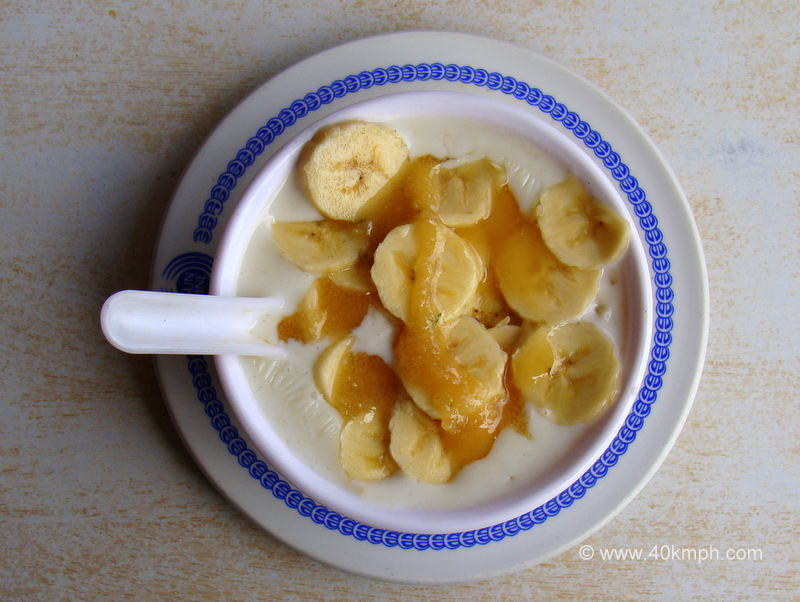 Banana Honey Porridge for Breakfast