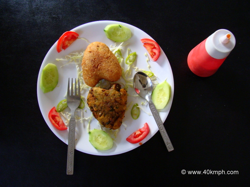 Cheese and Vegetable Cutlets as an Evening Snacks