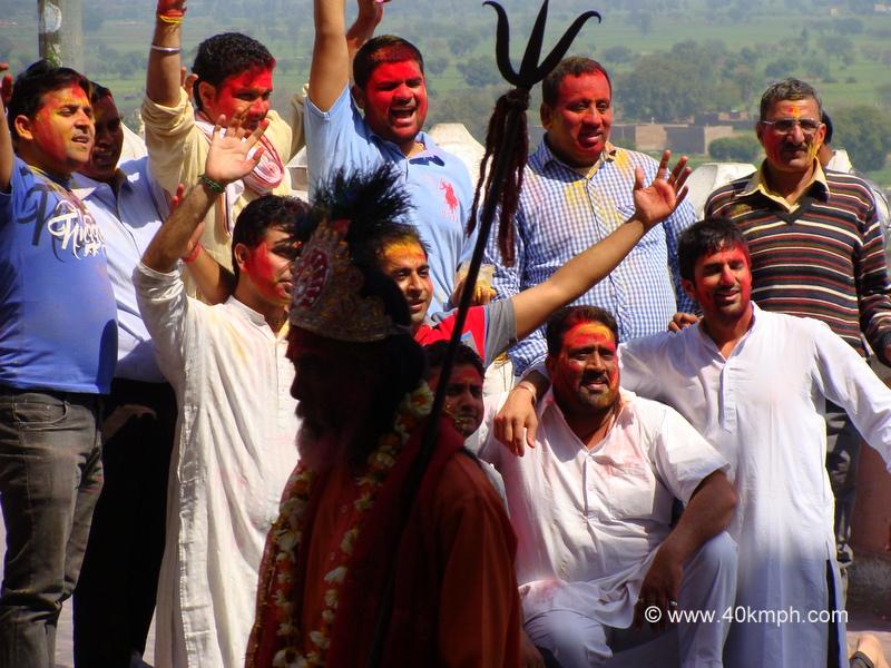 Holi Group Photo