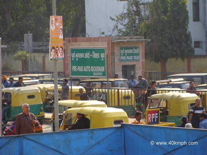 Pre-Paid Auto Rickshaw Booth, Hazrat Nizamuddin Railway Station, Delhi