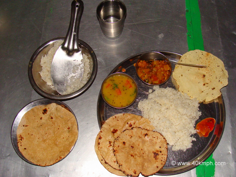 Unlimited Veg Thali for Dinner in Mount Abu, Rajasthan