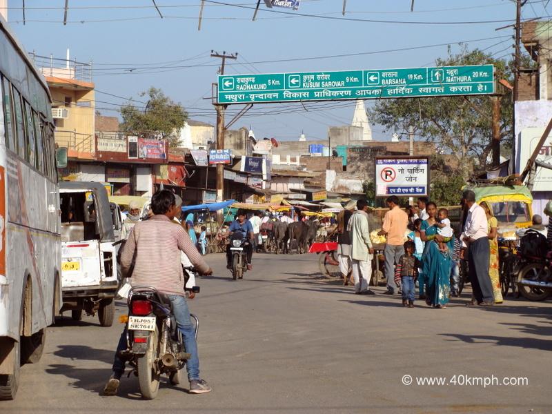 Distance from Govardhan (Mathura, Uttar Pradesh) to Tourist Places