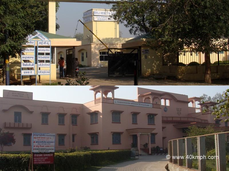 Hospitals in Vrindavan, Uttar Pradesh