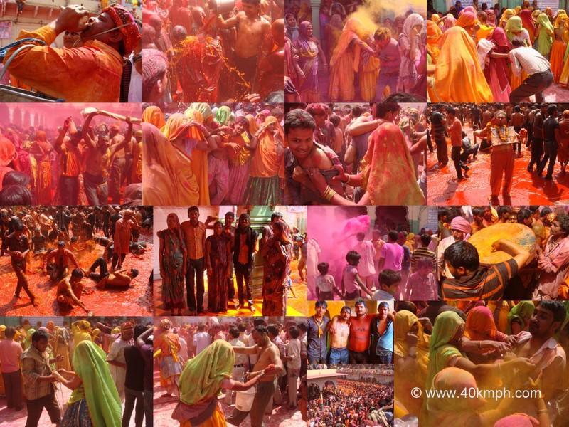Huranga Festival - 2014 at Dauji Temple, Baldeo, Uttar Pradesh