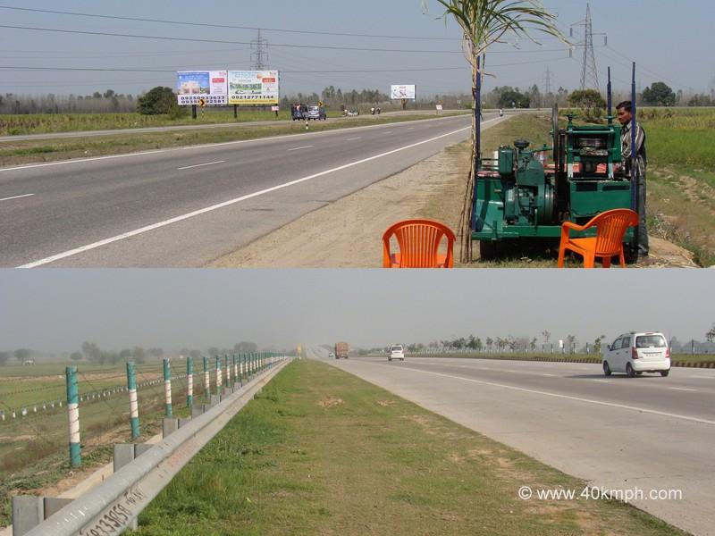 National Highway 58 and Yamuna Expressway