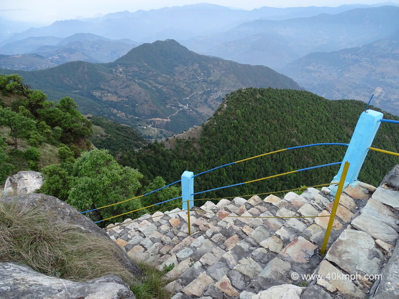 A View of the Valley from Kartik Swami Temple, Rudraprayag, Uttarakhand