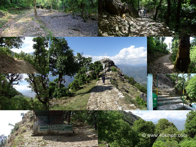 Trekking Path to Kartik Swami Temple, Rudraprayag, Uttarakhand