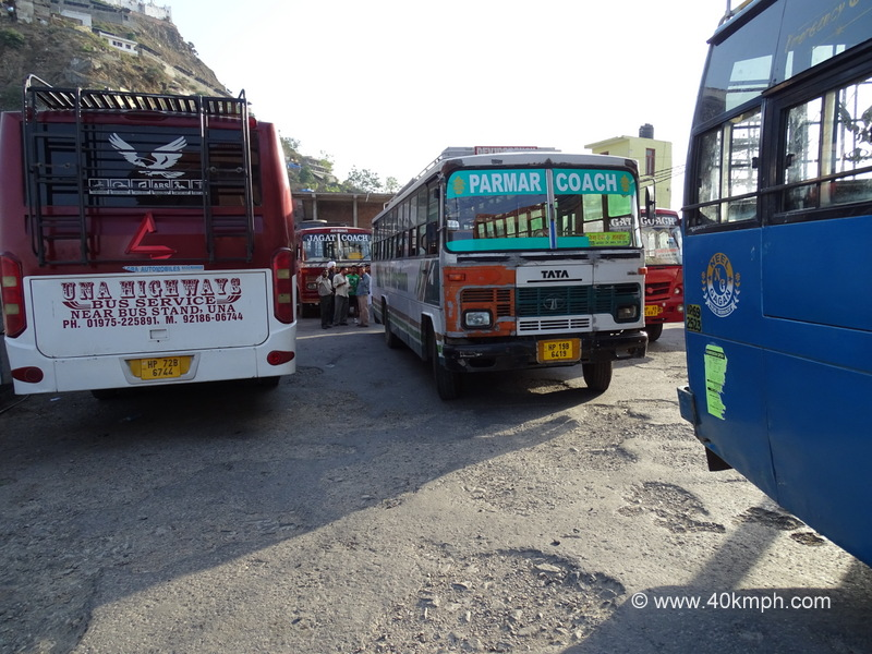 Bus Stand, Naina Devi, Bilaspur, Himachal Pradesh