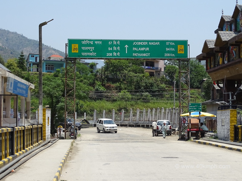 Distance from Mandi (Himachal Pradesh) to various Cities