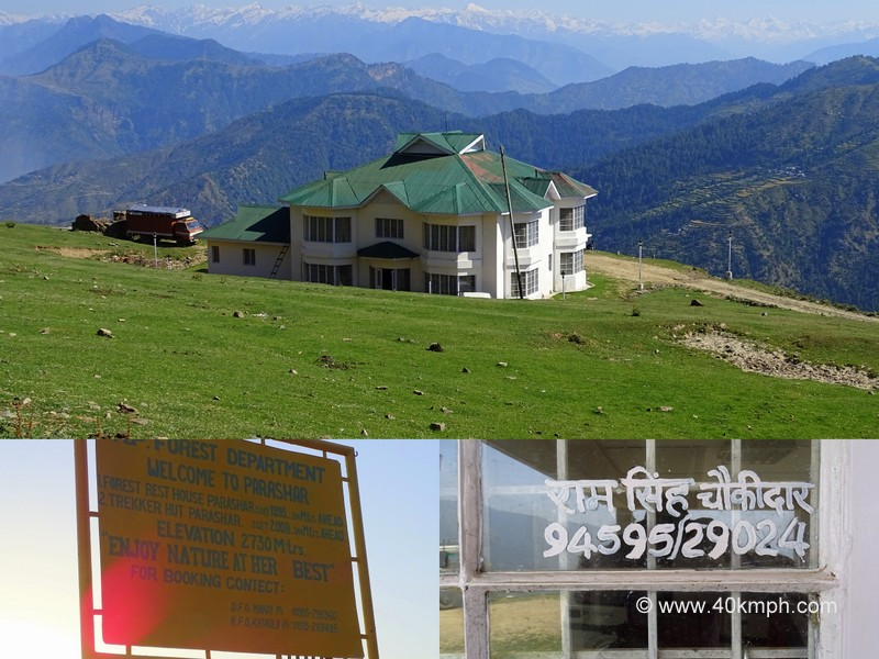 Forest Rest House for Accommodation at Prashar Lake, Himachal Pradesh