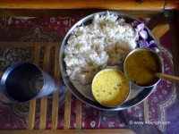 Jhol, Mah ki Dal and Chawal - Favourite Food of Mandi (Himachal Pradesh)
