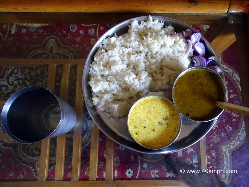 Jhol, Mah ki Dal and Chawal - Favourite Food of Mandi (Himachal Pradesh)