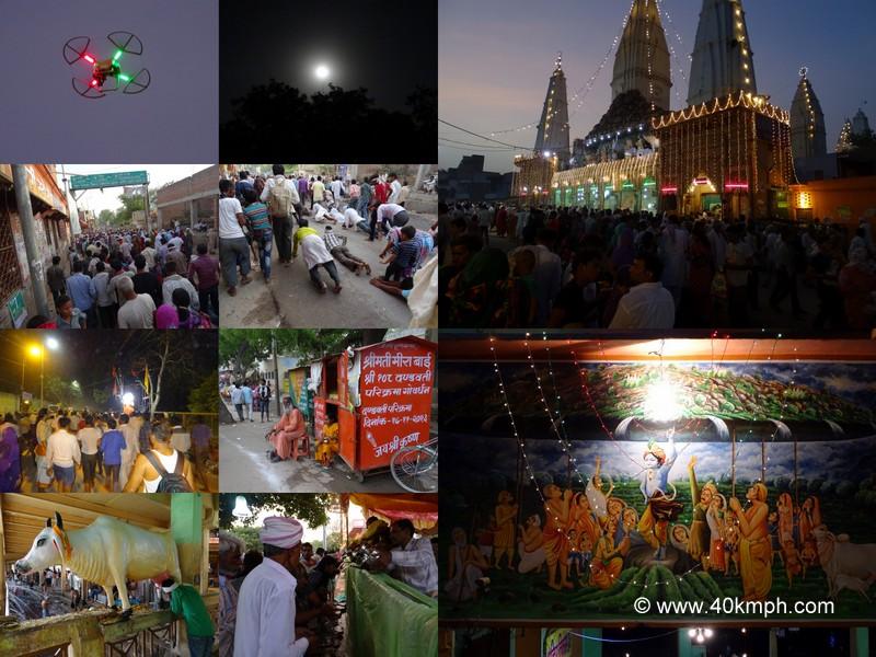 Govardhan Parvat Parikrama on Guru Purnima 2014