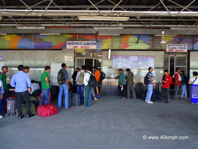Cloak Room at New Delhi Railway Station