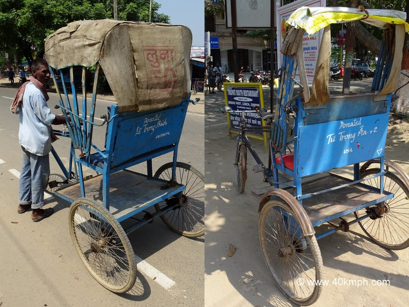 Donated Rickshaws