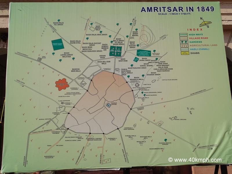 Amritsar (Punjab) in 1849