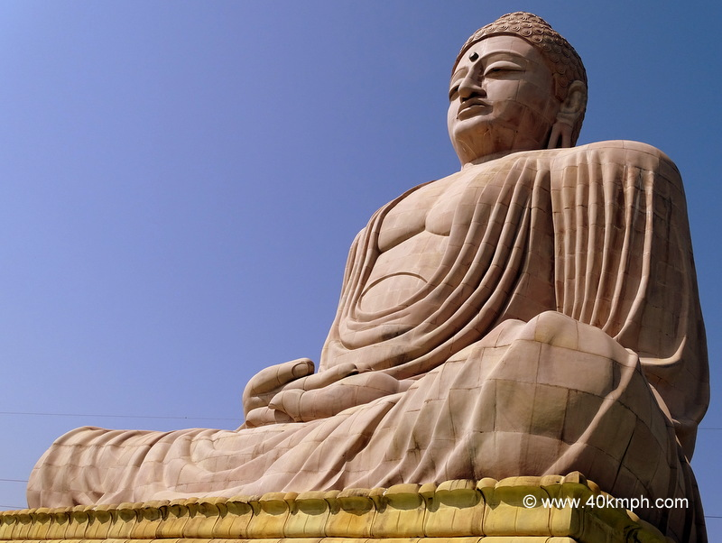 Daibutsu - The Great Buddha Statue at Bodhgaya, Bihar