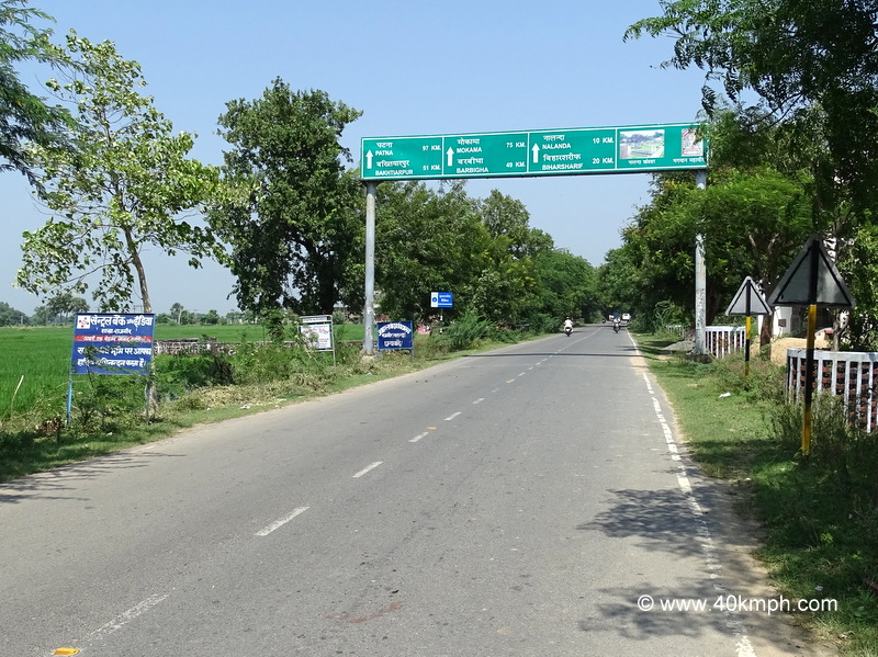 Distance of Towns and Cities from Rajgir (Bihar)