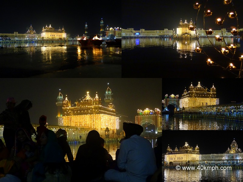 Golden Temple (Amritsar) on Diwali Night 2014