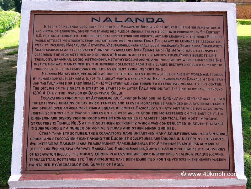 History of Nalanda (Bihar)