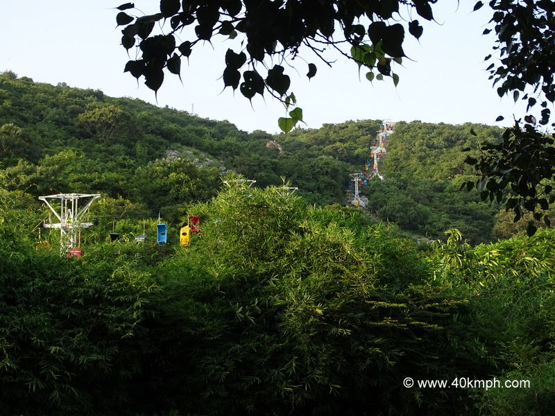 Ropeway for Shanti Stupa at Rajgir, Bihar