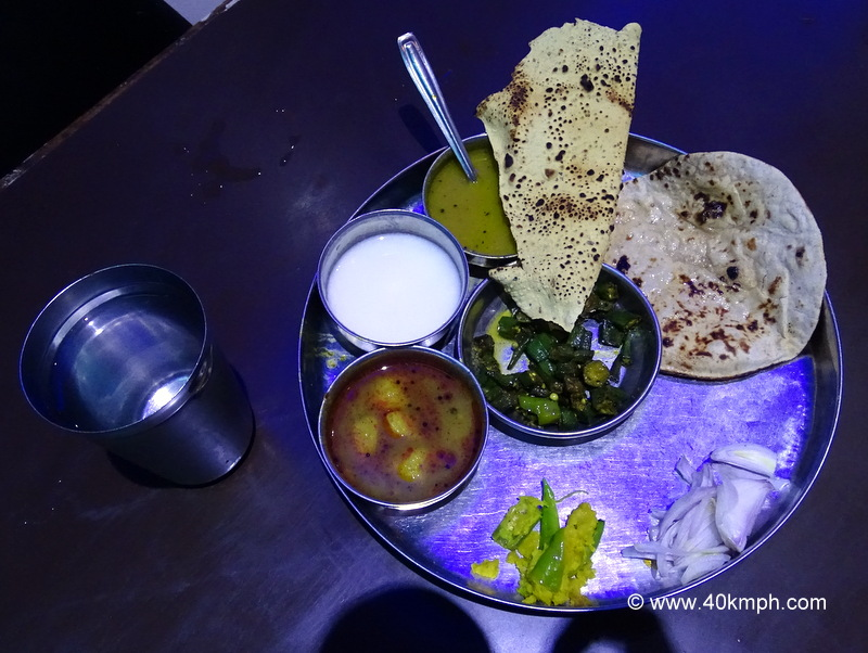 Unlimited Veg Thali for Dinner in Amritsar, Punjab