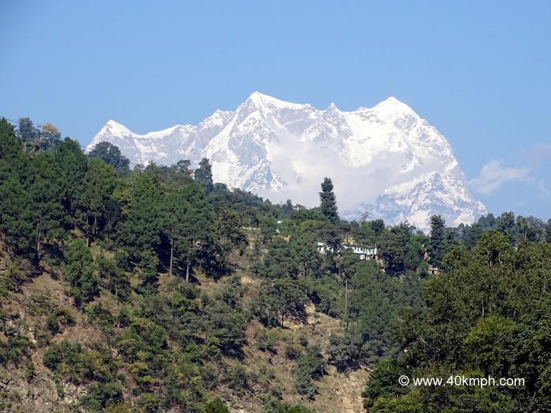 Close View of Chaukhamba Peak from Agastyamuni (Rudraprayag), Uttarakhand