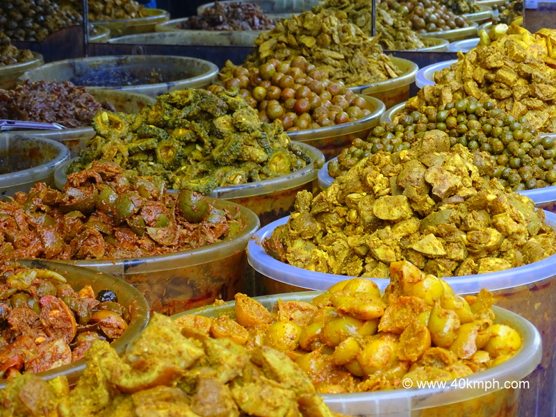 Different Types of Pickles in Amritsar, Punjab