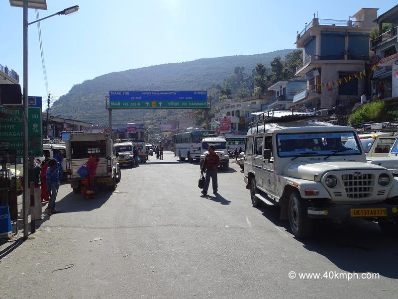 Distance from Guptkashi (Rudraprayag, Uttarakhand) to Tourist Places