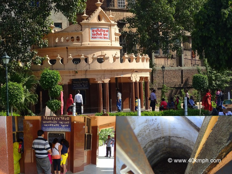 Martyrs' Well at Jallianwala Bagh, Amritsar, Punjab