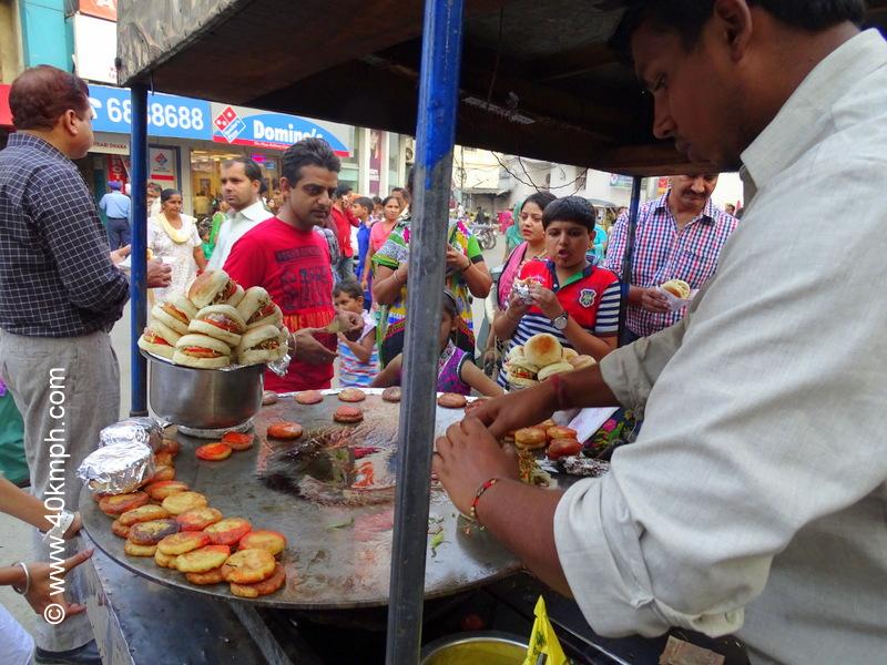 Tikki Wala at Ahluwalia Katra Chowk, Amritsar, Punjab
