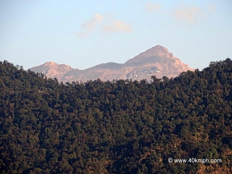 View of Chandrashila Peak from Jakh Devta (Devshal Village), Uttarakhand