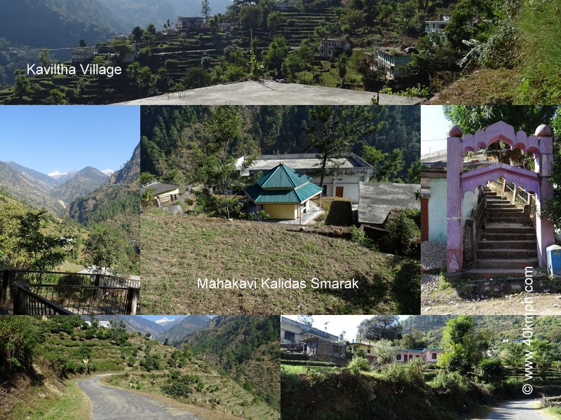 Kaviltha Village nearby Kalimath Temple in Uttarakhand