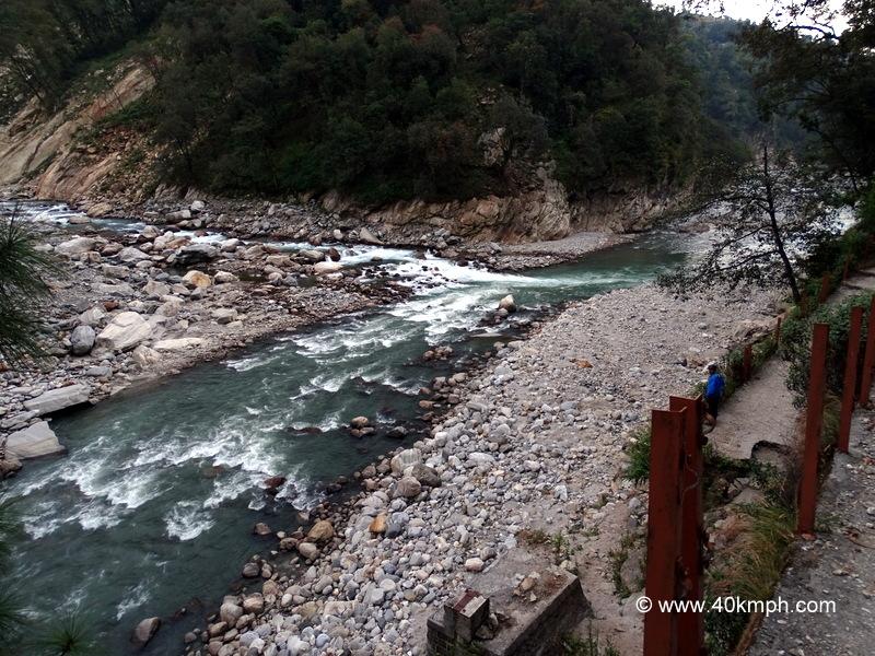 Madhuganga-Mandakini River Confluence (Guptkashi Kalimath Road, Uttarakhand)