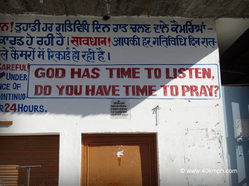 Take Time To Pray Quote